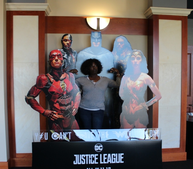 Me and the Justice League
